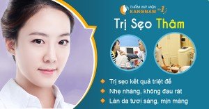 Trị sẹo thâm hiệu quả tại TMV Kangnam