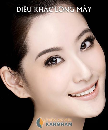 Điêu khắc lông mày công nghệ Hàn Quốc5