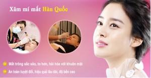 Phun xăm mí mắt CN Hàn Quốc cho đôi mắt đẹp hoàn hảo