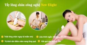 Tẩy lông chân vĩnh viễn công nghệ New E-Light