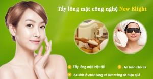 Tẩy lông mặt vĩnh viễn – Hiệu quả tới 98% tại Kangnam
