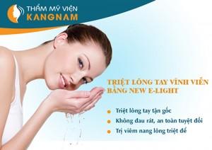 Tẩy lông tay vĩnh viễn tại TMV Kangnam
