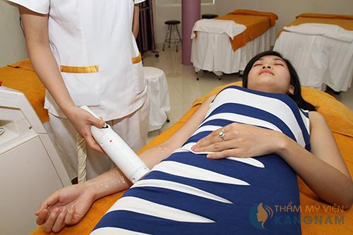 Tẩy lông tay vĩnh viễn tại Bệnh viện thẩm mỹ Kangnam6