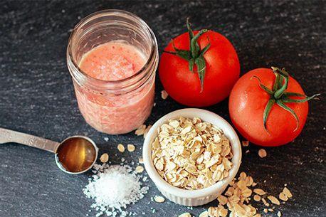 Bật mí cách trị mụn bằng cà chua cực dễ thực hiện 5